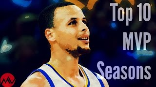Top 10 NBA MVP Seasons