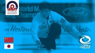 China v Japan - Men - Round-Robin - Pacific-Asia Curling Championships 2017