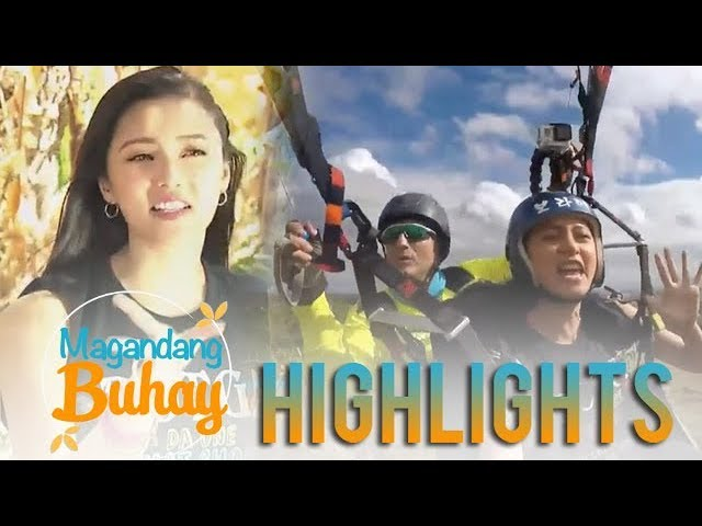 Magandang Buhay:  Kim shares her experience with paragliding