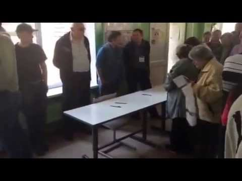 Donetsk referendum: inside a polling station