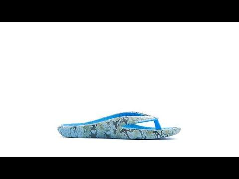 Tony Little Cheeks AnimalPrint Health Sandal with Gel Fo...