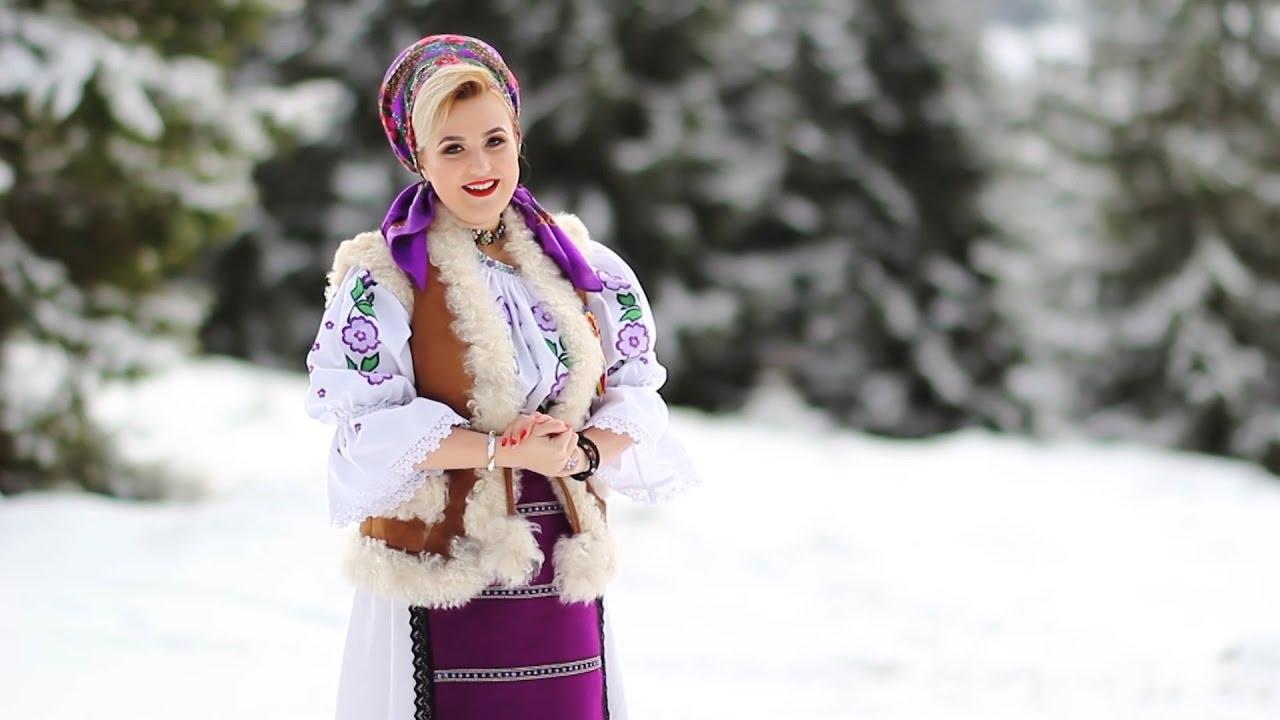 Colinde 2017 - Adina Simona Popovici - Sara Craciunului nost' (COLAJ VIDEO)