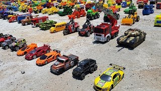 Car Toys For Kids Learning Car Names Wheel Loader Excavator School Bus  For Children