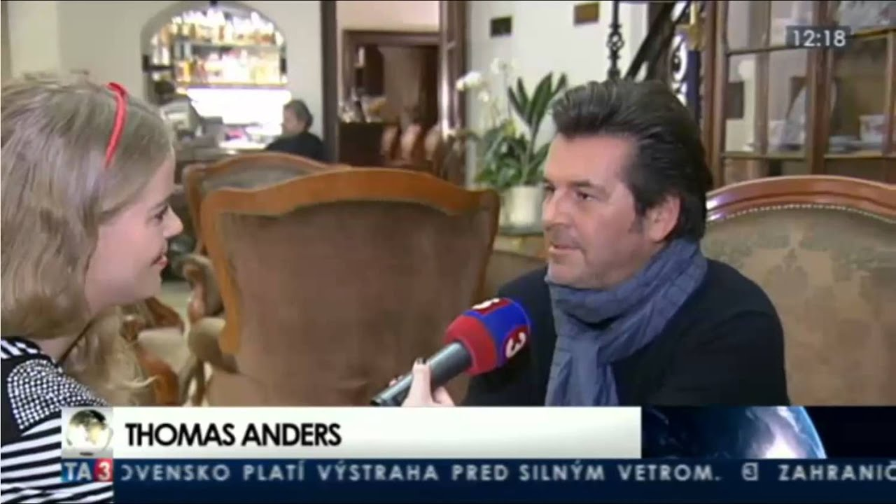 Thomas Anders 2013 Thomas Anders in Bratislava