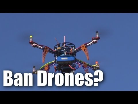 Drones threaten RC model flying