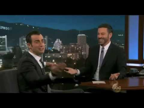 Justin Theroux on Jimmy Kimmel