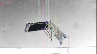 ハイスピードカメラ+データロガー 「動体追尾(携帯電話の落下)」
