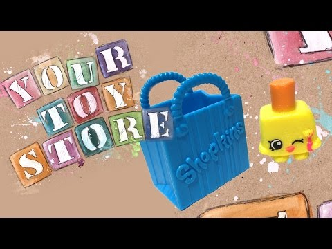 Shopkins Unboxing Season 1 Five Pack one Glitter Shopkins