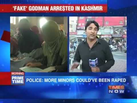 Fake godman arrested in Kashmir