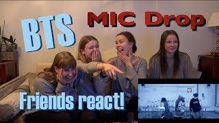 "Download Lagu BTS ""Mic Drop"" (Steve Aoki Remix) Reaction WITH FRIENDS ☆Leiona☆ Gratis STAFABAND"
