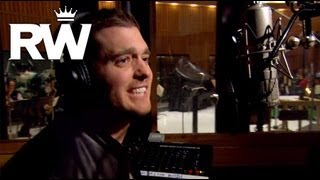Michael Buble Video - Robbie Williams & Michael Bublé | The Recording of 'Soda Pop' | Swings Both Ways