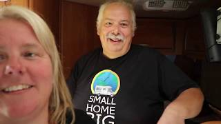 RV Living Tour of  full time Small Home Big Garden, Tire Tech!!!!!  remember lifeIsAwesome Part 1