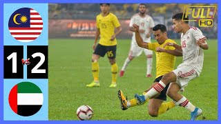 MALAYSIA VS UAE 1-2 | World Cup Qualifiers 2022