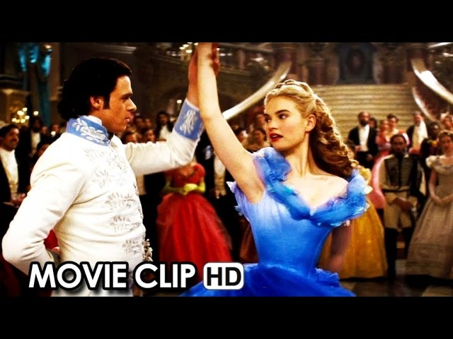 Cinderella Movie CLIP 'They're All Looking At You' (2015) - Lily James HD