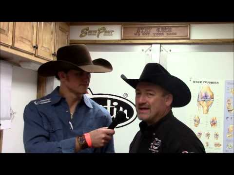 Justin Sports Medicine Injury Report - Benny Binion's Bucking Horse and Bull sale