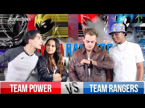 Power Rangers (2017 Movie) Movie Trivia Schmoedown Cast Battle!