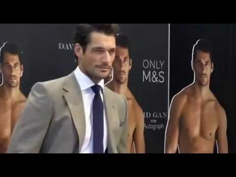 David Gandy launches his collection of underwear for Marks and Spencer (18/09/2014)