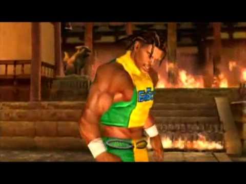 Tekken 5 - Eddy Gordo video