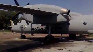 Antonov An-32 Test indian air force 2707
