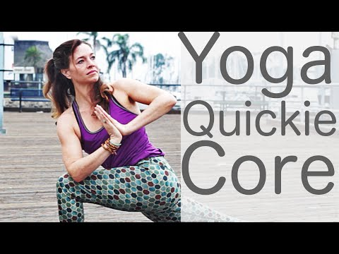 Yoga Quickie Core with Lesley Fightmaster