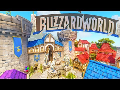 OVERWATCH'S NEW BLIZZARDWORLD MAP IS HERE!! (PTR)