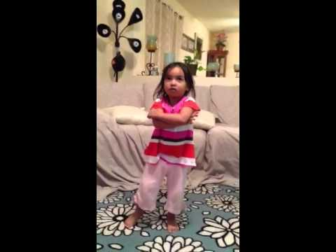 2 Yr Old Yella Dances To The Music Of One Direction video