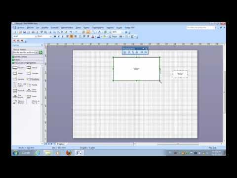 Como usar Visio de Microsoft Office para crear Graficas, Diagramas u Organigramas