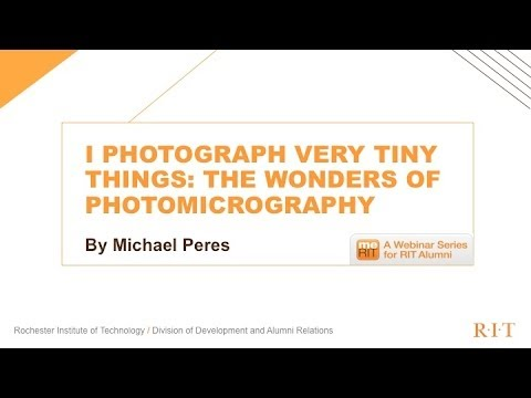 I Photograph Very Tiny Things: the Wonders of Photomicrography