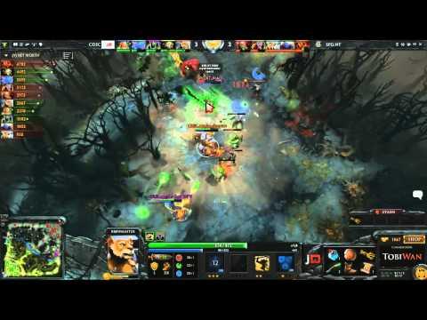 Speed Gaming vs CDEC Game 1  GLeague 2014 TobiWanDOTA