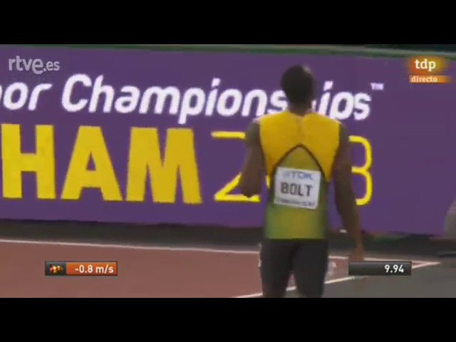 Justin Gatlin Wins Men's 100m Final   London IAAF World Championships 2017