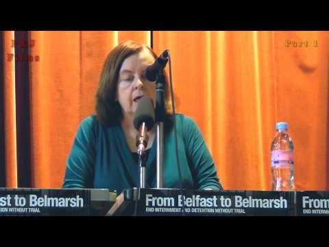 Bernadette Devlin McAliskey Northern Irish republican 2012 Scotland free Marian Price meeting pt 1