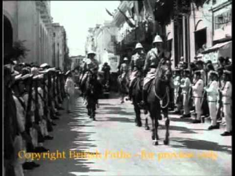 Haile Selassie In Malta - British Pathe (1954)