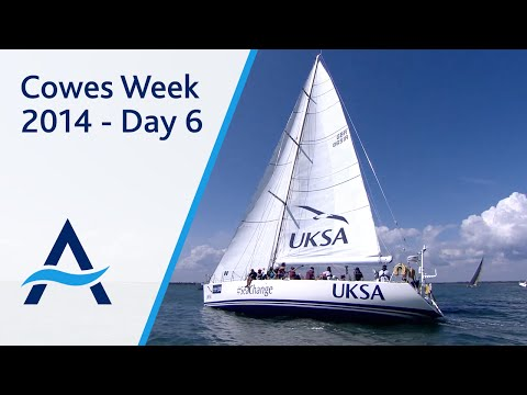 Cowes Week 2014 - Day 6 Highlights