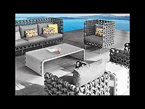 Die außergewöhnlichen Designer Gartenmöbel von Kenneth Cobonpue