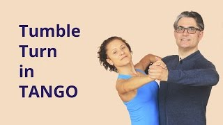 How to Dance Tumble Turn in Tango?