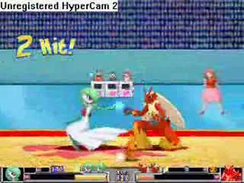 Type Wild 2.1: Gardevoir (Me) Vs. Blaziken Video