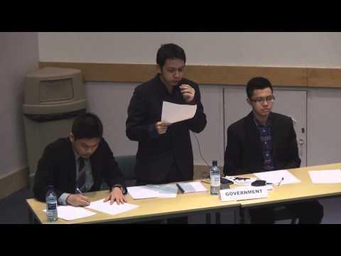 Final English Debate 2013