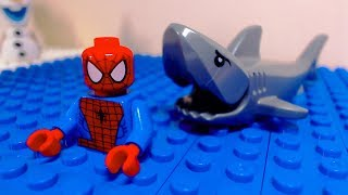 Lego Spider Man Shark Attack
