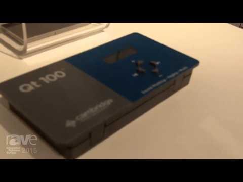 ISE 2015: Cambridge Sound Management Explains Qt Pro Soundmasking System