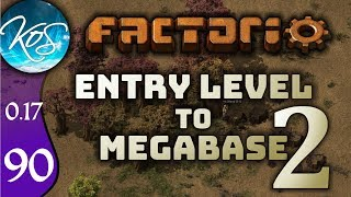 Factorio 0.17 Ep 90: MASSIVE SMELTING - Entry Level to Megabase 2 - Tutorial Let's Play, Gameplay