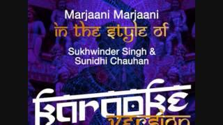 Marjaani Marjaani Ameritz Indian Version Karaoke