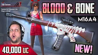 BUILDING THE NEW BLOOD & BONES M16A4 - PUBG Mobile Gun Lab