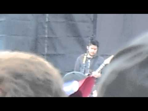 CHEVELLE PERFORMING FACE TO THE FLOOR AT ROCK ON THE RANGE 2014...
