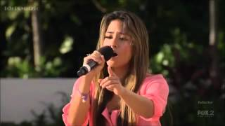 Lylas impresses on Judges House (The X Factor USA 2012)