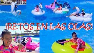 10 FLOTIS en el  PARQUE DE OLAS! | TV ANA EMILIA