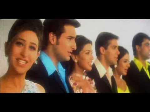 Salman Khan, Monish Behl, Saif, Sonali, Tabu & Karishma In Hum Saath Saath Hain video