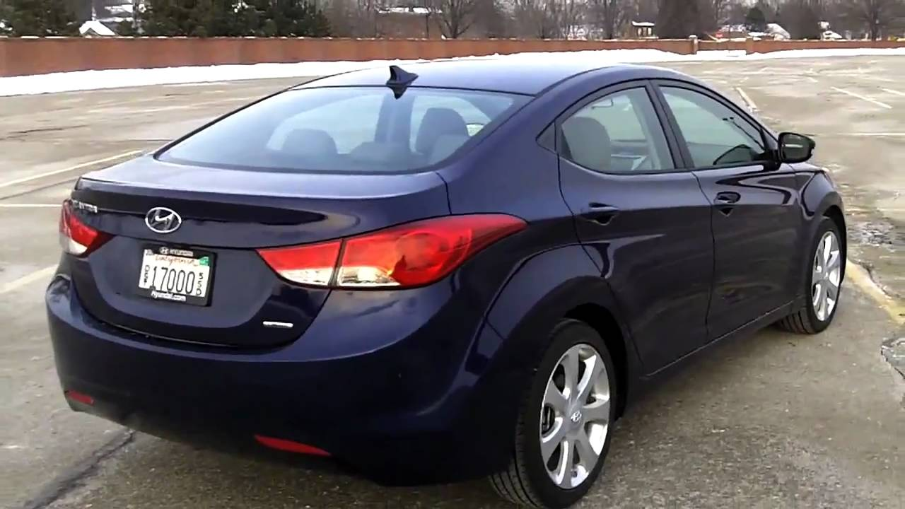 Reviewed 2011 Hyundai Elantra Youtube