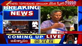 YCP MPs Protests at Parliament   AP Special Status