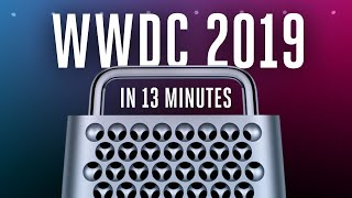 Apple WWDC 2019 keynote in 13 minutes