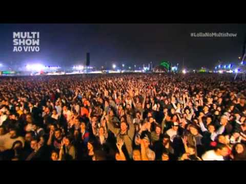 Queens of the Stone Age - My God is the Sun - New Song Lollapalooza Brasil 2013
